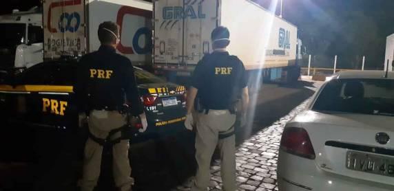 PRF detém casal com suspeita de Coronavirus após fuga de hospital em São Borja