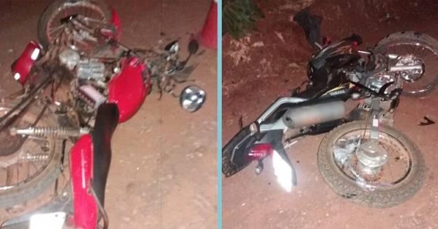 Colisão entre motos deixa um morto