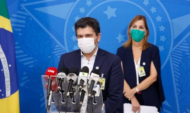 Ministério da Saúde divulga números atualizados da covid-19 no Brasil