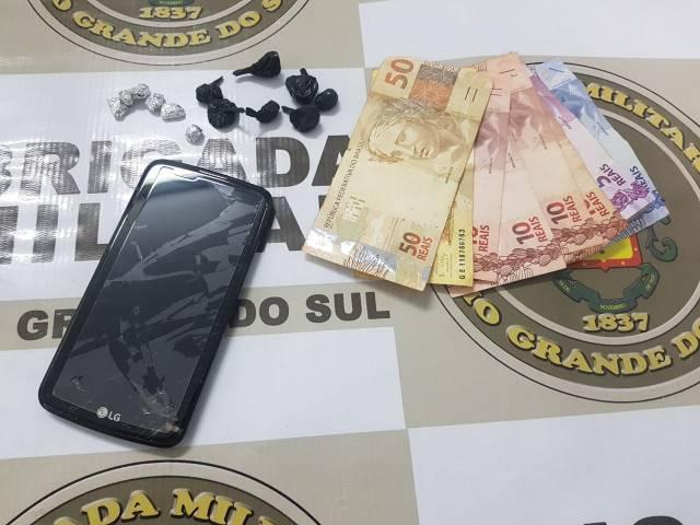 Homem é preso por tráfico de drogas em Horizontina